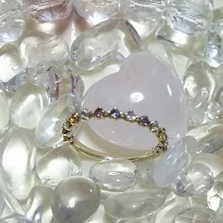 しろくま様へ  天然石アミュレットリング(ピンキーリング)(リング(指輪))