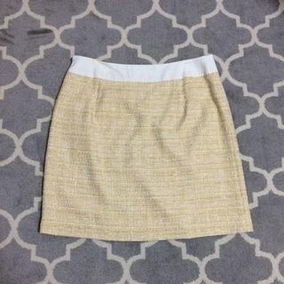 エフデ(ef-de)のエフデ♡ツイードスカート 17号(ひざ丈スカート)