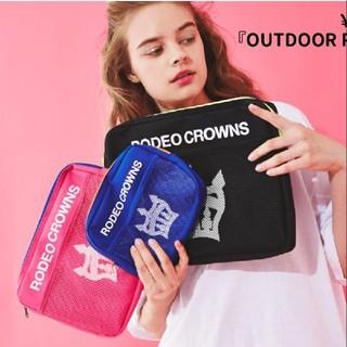 ロデオクラウンズワイドボウル(RODEO CROWNS WIDE BOWL)の新品 ロデオ ノベルティ トラベルポーチ 3点セット(ポーチ)