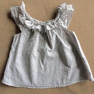 ベビーギャップ(babyGAP)の女子 babyGAP ノースリーブシャツ 90㎝(ブラウス)