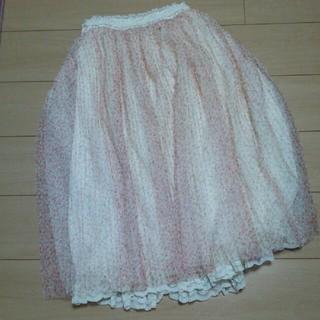 リズリサ(LIZ LISA)のリズリサ チュール ロングスカート(ロングスカート)