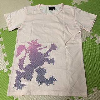 美品♪新品同様  メンズTシャツ 送料無料 ピンク Sサイズ