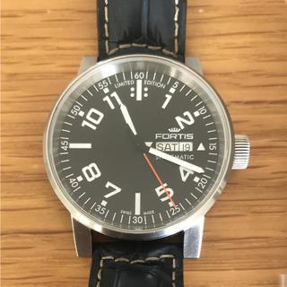 フォルティス(FORTIS)のFORTIS フォルティス スペースマティック 世界限定 時計 オートマ 自動巻(腕時計(アナログ))