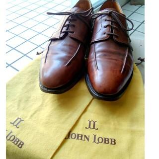 ジョンロブ(JOHN LOBB)の美品 ジョンロブ ミラン 保存袋付 9E(ドレス/ビジネス)