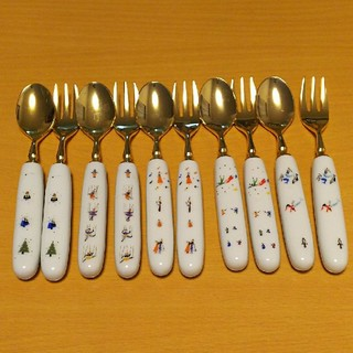 フェリシモ(FELISSIMO)のdancing様専用ハイセンスコレクション スプーン &フォーク5セット(カトラリー/箸)