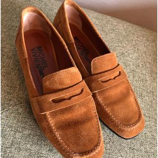 ドゥーズィエムクラス(DEUXIEME CLASSE)のミッシェル ヴィヴィアン MICHEL VIVIENのスウェードローファー(ローファー/革靴)