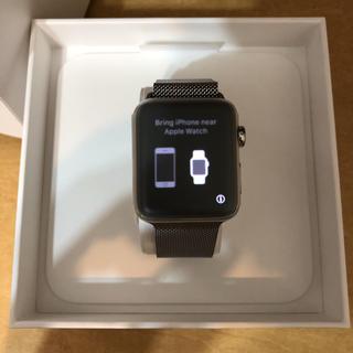 アップルウォッチ(Apple Watch)のSeries 3 42mm GPS + Cellular (腕時計(デジタル))