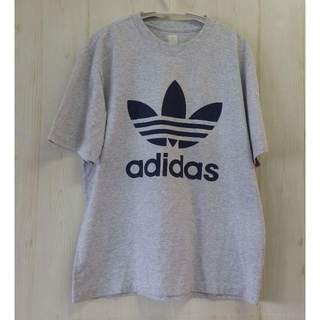 adidas(アディダス)のアディダス ビッグロゴ Tシャツ Mサイズ adidas メンズのトップス(Tシャツ/カットソー(半袖/袖なし))の商品写真