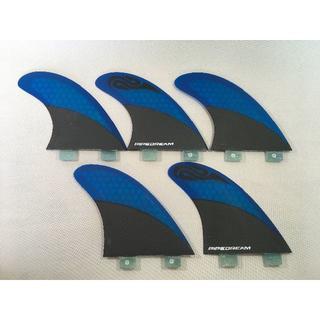 ハニカムコア 5fin FCSタイプ Blue(サーフィン)