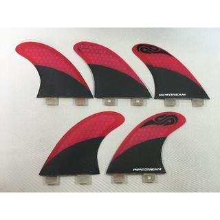 ハニカムコア 5fin FCSタイプ Red(サーフィン)