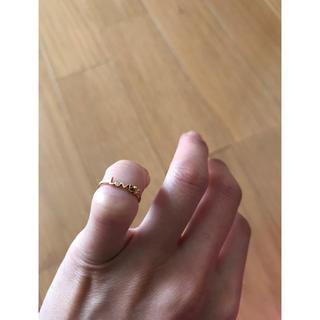 アーカー(AHKAH)のAHKHA アーカー Love♡ピンキーリング(リング(指輪))