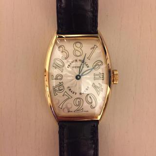 フランクミュラー(FRANCK MULLER)の【jin様専用③】FRANCK MULLER クレイジーアワーズ 5850CH(腕時計(アナログ))