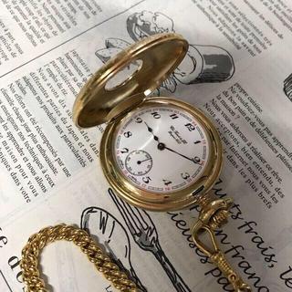 ティソ(TISSOT)の【美品】TISSOT(ティソ)手巻き式 懐中時計_Gold(その他)