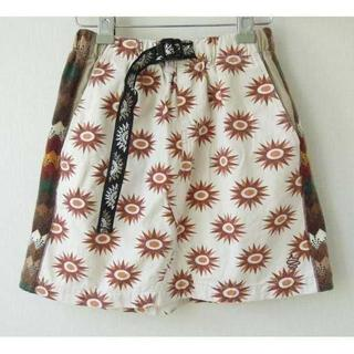 アールディーズ(aldies)のaldies スカート 柄のクレイジーパターン S(sk-112)(ひざ丈スカート)