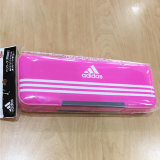 アディダス(adidas)のアディダス ペンケース 箱型ふでばこ 筆箱 新品(ペンケース/筆箱)