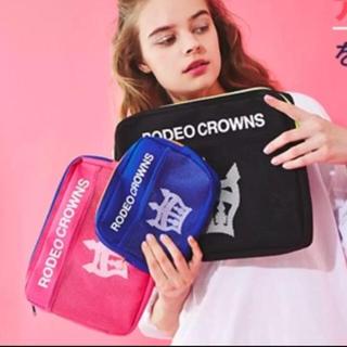 ロデオクラウンズワイドボウル(RODEO CROWNS WIDE BOWL)の新品ロデオクラウンズ◉ノベルティポーチ3点セット(ポーチ)