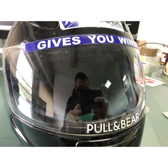 【新品】マルク・マルケス 2017 2018 ヘルメット ステッカー 自動車/バイクのバイク(ステッカー)の商品写真