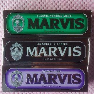マービス(MARVIS)のyunika様専用 追加商品:マービス3本セット75mlX3 送料込!(歯磨き粉)