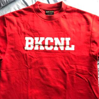 バックチャンネル(Back Channel)のバックチャンネル  Tシャツ 赤(Tシャツ/カットソー(半袖/袖なし))