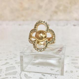 ルイヴィトン(LOUIS VUITTON)の正規品 ヴィトン 指輪 バーグパワーフラワー M66089 リング ゴールド 石(リング(指輪))