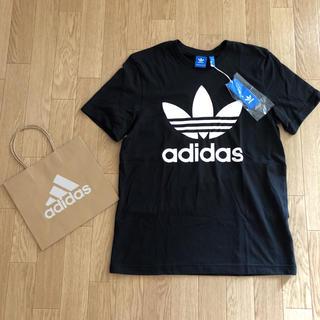 アディダス(adidas)のアディダス♡Tシャツ♡ブラック(Tシャツ/カットソー(半袖/袖なし))