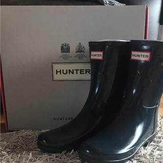 ハンター(HUNTER)のハンター 長靴 キッズ 子供 レディース レインブーツ 新品 23〜23.5(長靴/レインシューズ)