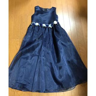バタフライ(BUTTERFLY)のドレス  ネイビー140(ドレス/フォーマル)