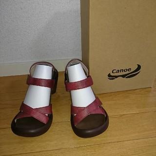 リゲッタカヌー(Regetta Canoe)のリゲッタカヌー サンダル 新品 赤色 サイズS(サンダル)