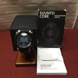 スント(SUUNTO)の美品 SUUNTO スント CORE  腕時計 正規品(腕時計(デジタル))