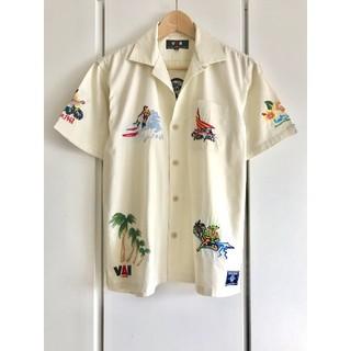 ヴァンヂャケット(VAN Jacket)の【美品】VAN/ヴァン ヂャケット/刺繍アロハシャツ/クラシック/オープンカラー(シャツ)