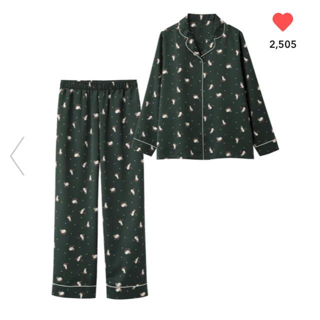 GU(ジーユー)のGUパジャマキャット完売品新品未使用ジーユーユニクロジェラピケ レディースのルームウェア/パジャマ(パジャマ)の商品写真