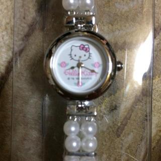 ジャル(ニホンコウクウ)(JAL(日本航空))のJAS キティ機内販売腕時計  新品(腕時計)