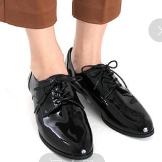 ランダ(RANDA)の新品!RANDA レースアップシューズ Lサイズ(ローファー/革靴)