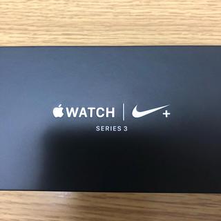 アップル(Apple)のApple Watch Series3 nikeモデル(腕時計(デジタル))