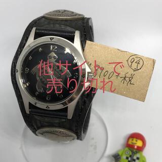 ケイシイズ(KC,s)の【状態〇】No10☆KC's☆チチカカ☆黒ベルト☆タートル☆メンズ腕時計(腕時計(アナログ))