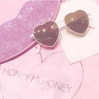 ハニーミーハニー(Honey mi Honey)のハニーミーハニー♡ハートサングラス(サングラス/メガネ)