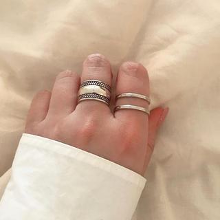 シルバー925 two ring(リング(指輪))