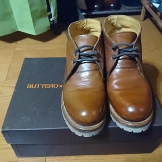 ブッテロ(BUTTERO)のブッテロ チャッカブーツ(ブーツ)