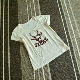 サイラス(SILAS)の☆SILAS(サイラス)フロッキープリントTシャツ☆(Tシャツ(半袖/袖なし))