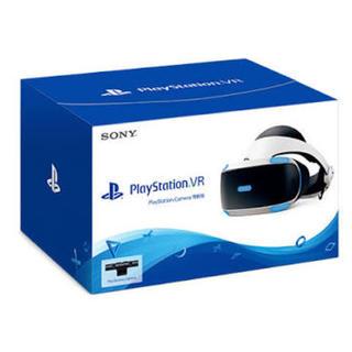 プレイステーションヴィーアール(PlayStation VR)のpsvr  本体 カメラ同梱版 美品です(家庭用ゲーム機本体)