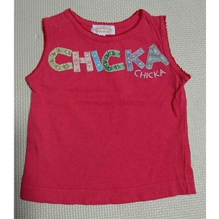 チッカチッカブーンブーン(CHICKA CHICKA BOOM BOOM)のチッカチッカブーンブーン*タンクトップ(Tシャツ/カットソー)