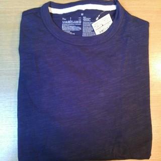 ムジルシリョウヒン(MUJI (無印良品))の無印良品 オーガニックコットン ボーダー ムラ糸 半袖Tシャツ 紳士 М(Tシャツ/カットソー(半袖/袖なし))