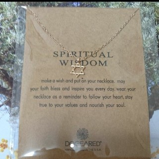 ドギャード(Dogeared)のDOGEARED spiritual wisdom 願いの叶うネックレス 新品(ネックレス)
