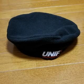 ユニフ(UNIF)のユニフ ベレー帽 UNIF 水原希子(ハンチング/ベレー帽)