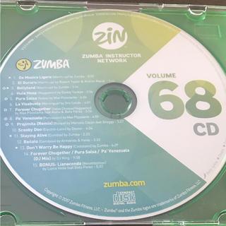 zumba   VOLUME 68CD