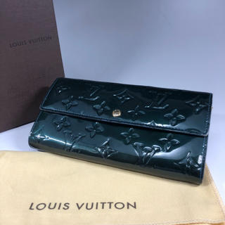ルイヴィトン(LOUIS VUITTON)の正規品 ルイヴィトン ヴェルニ ポルトフォイユ サラ 長財布 S6-7(財布)