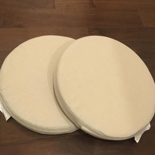 イケア(IKEA)の新品未使用 IKEA 円形 JUSTINA 2個セット (クッション)
