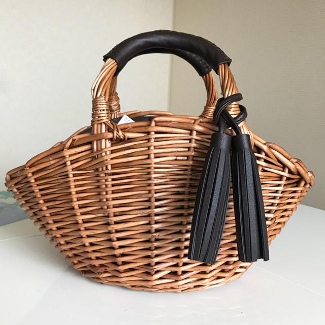 しまむら(シマムラ)のかごバッグ レディースのバッグ(かごバッグ/ストローバッグ)の商品写真