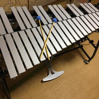 鉄琴 斉藤楽器 ビブラフォン 3オクターブ no.125 未使用品 打楽器(鉄琴)