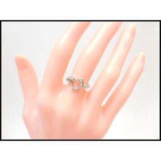 ティファニー(Tiffany & Co.)のTIFFANY & Co. ティファニー オープンハート リング ♯5.5(リング(指輪))